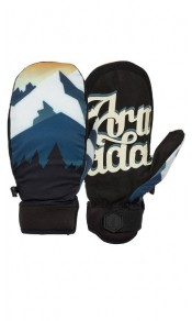 Carmel WINDSTOPPER Mitt Black