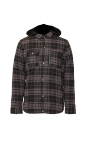READING FLANNEL HOODY